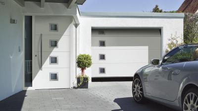 Hörmann Garagentor und Haustür
