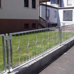 Zaun + Gartentor Ansicht 2