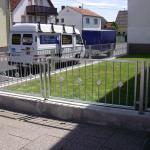 Zaun + Gartentor Ansicht 4